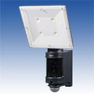 センサーLEDライト付きAHDカラーカメラ(4灯)