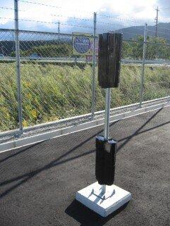 外周警備、赤外線センサー写真